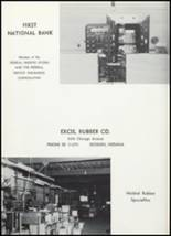 1961 Goshen High School Yearbook Page 128 & 129