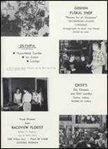 1961 Goshen High School Yearbook Page 138 & 139