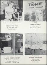 1961 Goshen High School Yearbook Page 140 & 141
