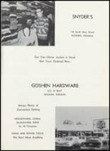 1961 Goshen High School Yearbook Page 146 & 147