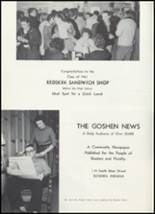 1961 Goshen High School Yearbook Page 150 & 151