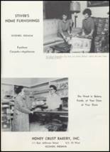 1961 Goshen High School Yearbook Page 154 & 155