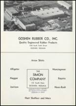 1961 Goshen High School Yearbook Page 158 & 159