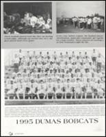 1996 Dumas High School Yearbook Page 44 & 45