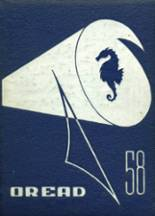 1958 Yearbook Burlington High School