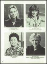 1983 Immaculate Conception High School Yearbook Page 20 & 21