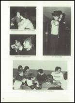 1983 Immaculate Conception High School Yearbook Page 34 & 35