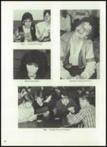 1983 Immaculate Conception High School Yearbook Page 40 & 41