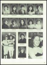1983 Immaculate Conception High School Yearbook Page 42 & 43