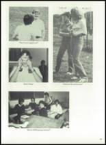 1983 Immaculate Conception High School Yearbook Page 68 & 69