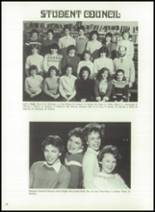 1983 Immaculate Conception High School Yearbook Page 76 & 77