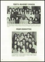 1983 Immaculate Conception High School Yearbook Page 82 & 83