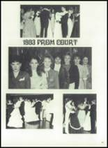 1983 Immaculate Conception High School Yearbook Page 84 & 85