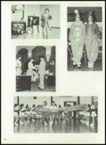 1983 Immaculate Conception High School Yearbook Page 86 & 87