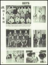 1983 Immaculate Conception High School Yearbook Page 92 & 93